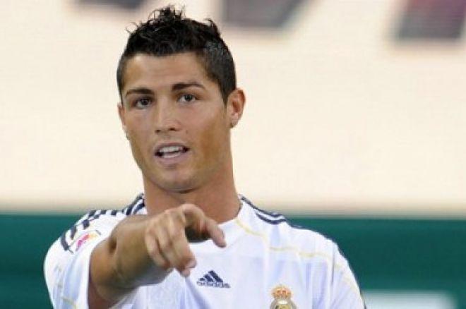 Cristiano Ronaldo novou tváří pokeru? 0001