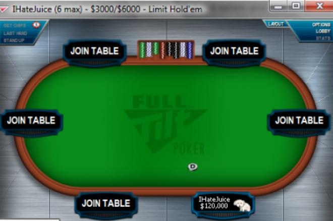 Новата IhateJuice маса на Full Tilt Poker
