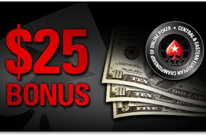 Új, Közép- és Kelet-Európai Championship of Online Poker versenysorozat a PokerStarson 0001