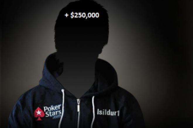 Isildur1 si za dva dny připsal čtvrt milionu dolarů 0001