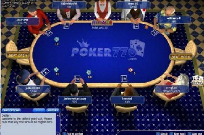 Prywatny Turniej z pulą $10,000 gwarantowaną, turniej na Poker770 chroniony hasłem... 0001