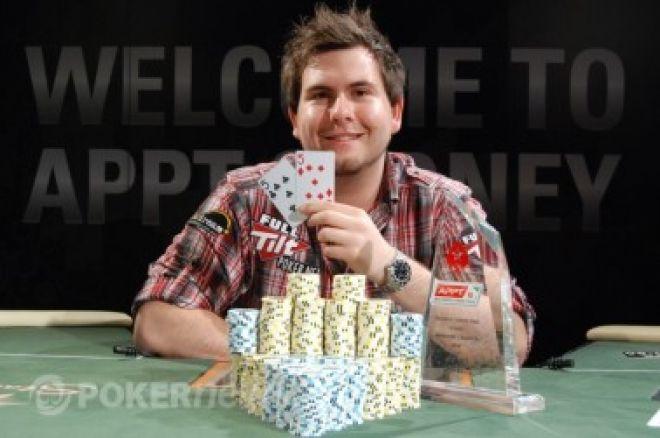 Jonathan Karamalikis nyerte a 2010 PokerStars.net APPT Sydney-t 0001