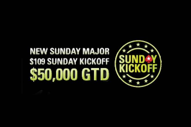 sunday kickoff pokerstars