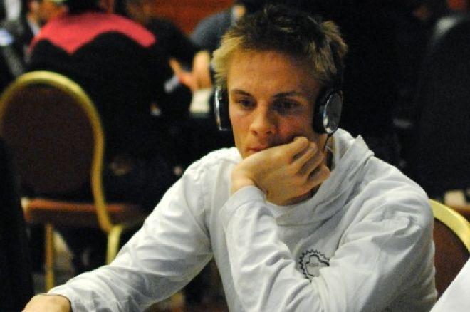 David Sonelin bäste svensk inför dag 3 i PokerStars EPT Prag 2010