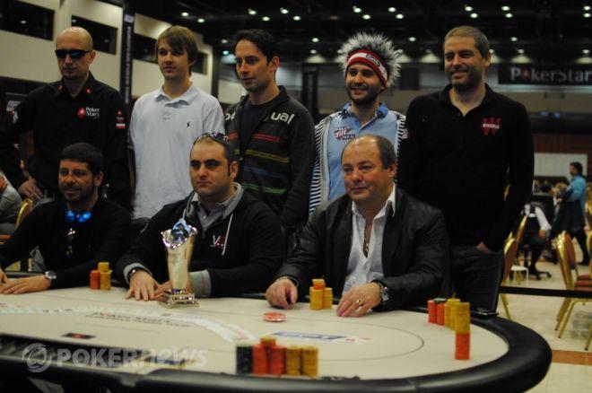 EPT Prag: Dag 4 Oversået - 8 Spillere Klar til Final Table, Marco Leonzio Chipleader 0001