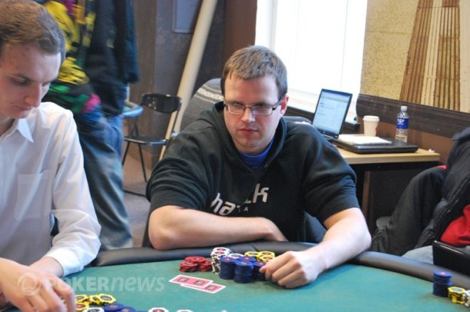 PokerStars.net LSPT Vilniaus etape triumfavo pirmosios dienos lyderis 0001