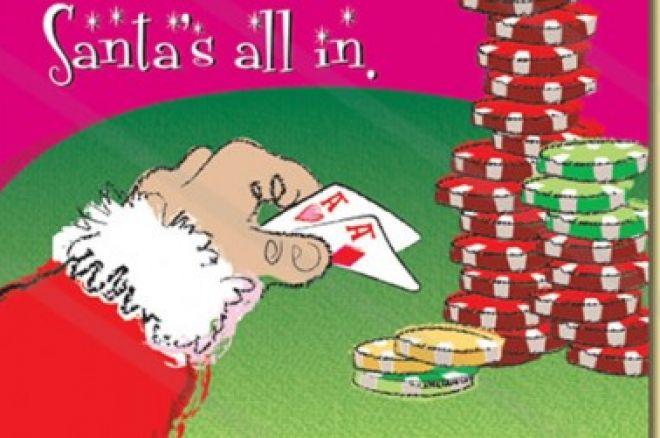 papa noel poker navidad