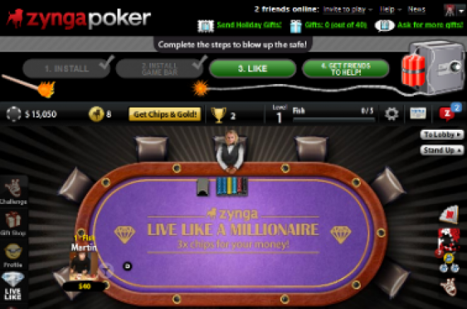 Zynga Poker na mobilech 0001
