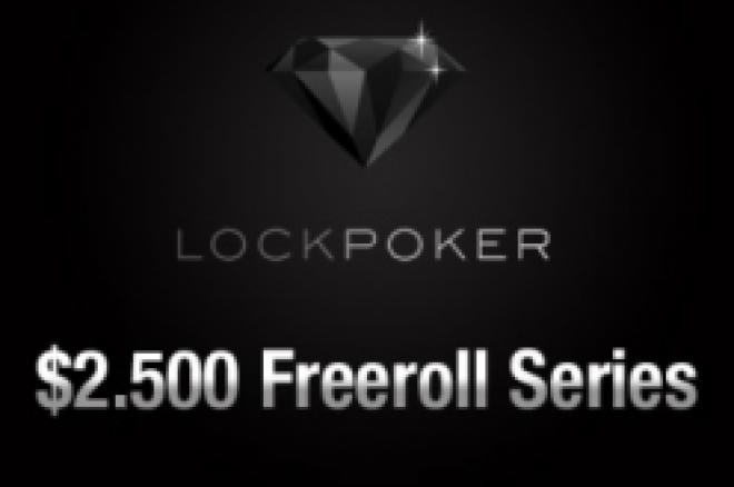 Eksklusive $2.500 freeroller hos Lock Poker i dag 28.desember kl 16:05 EST 0001