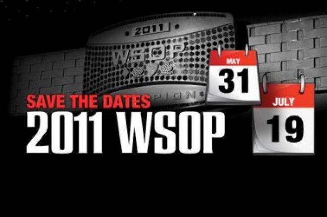 Termíny pro WSOP 2011 jsou již známy 0001