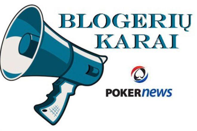 """PokerNews LT pristato pirmąją 2011 metų naujieną – """"Blogerių karus"""" 0001"""