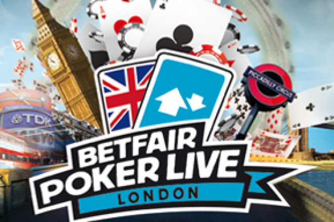 Класирайте се за BETFAIR POKER LIVE в Лондон 0001