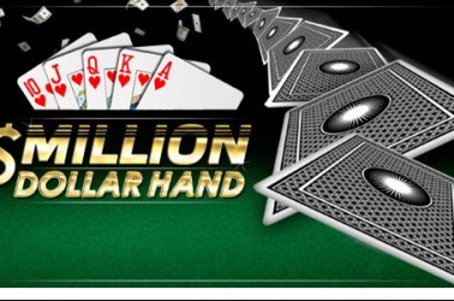 PartyPoker iknedēļas ziņas: Million Dollar Hand akcija - kļūsti par miljonāru! 0001