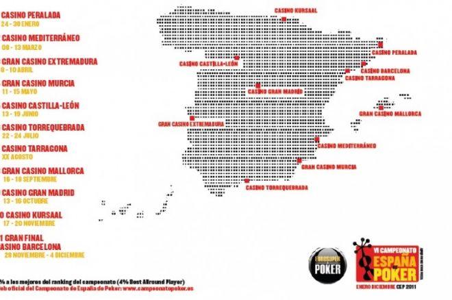 El VI Campeonato de España de Póker arranca el 24 de enero 0001