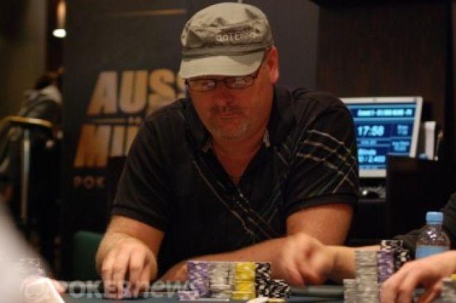 2011 Aussie Millions, Event #1: Den 1a přežila jen hrstka hráčů 0001
