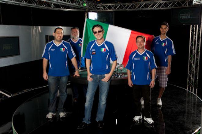 Team Italia печели Световната покер купа