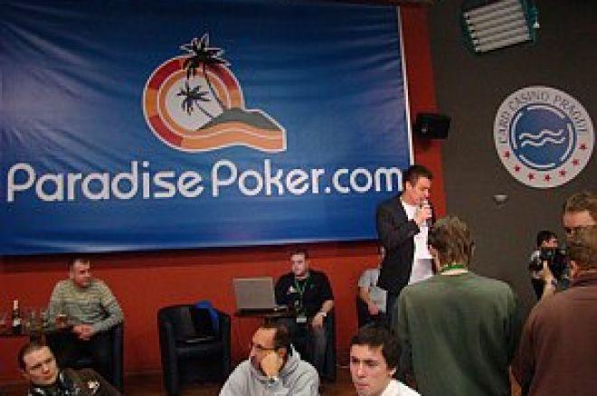 Paradise Poker Tour w Wiedniu - Dawid Czątkowski piąty 0001