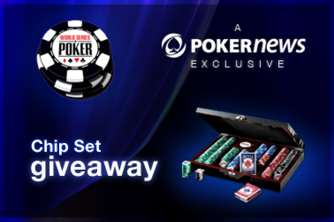 Sign Up to WSOP Online and Get a Free 300 Piece Poker Chip Set 0001