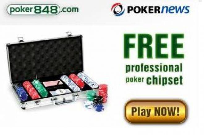 Získejte profesionální sadu žetonů na Poker848 0001