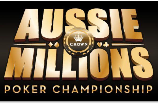 """Кратко о главном: первый день на """"Aussie Millions""""... 0001"""