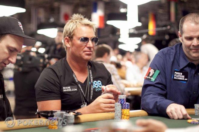 shane warne poker