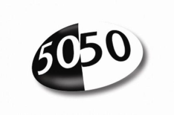 PokerStars uruchamia nowe turnieje Sit & Go - Fifty50 0001