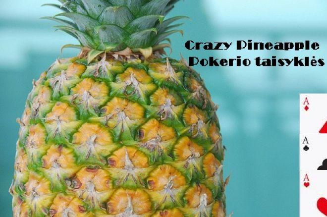 Crazy Pineapple pokerio taisyklės 0001