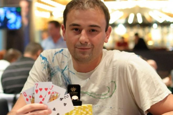 Mike Shklover vinner Aussie Millions $5,300 Pot Limit Omaha 2011