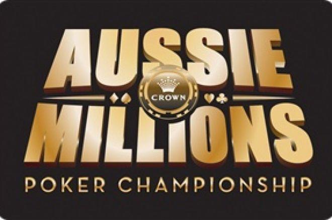 Aussie Millions, 현재 진행중인 파이널 테이블 0001