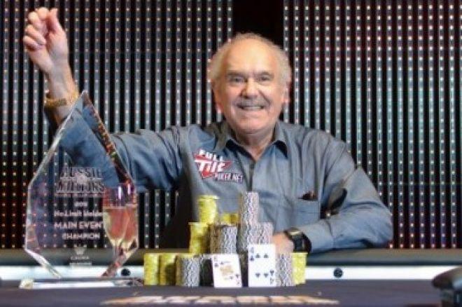 El australiano David Gorr gana el Main Event del Aussie Millions 0001