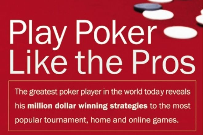 Pokera grāmatas: Phil Hellmuth - Play Like The Pros 0001