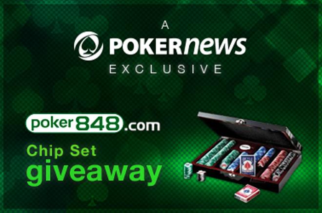 Reģistrē Poker848 kontu un iegūsti savā īpašumā profesionālu čipu komplektu! 0001