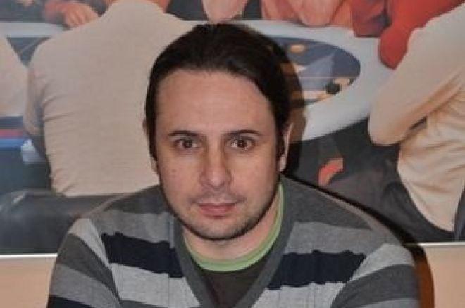 Jose Luis Martínez es el chipleader del Día 1A en la segunda etapa de la Liga Poker 770 0001