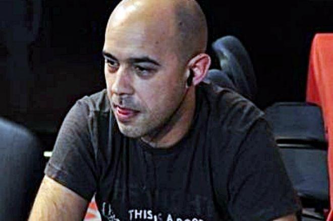 Rubén Barcala es el chipleader del Día 1B en la segunda parada de La Liga Poker 770 de La... 0001