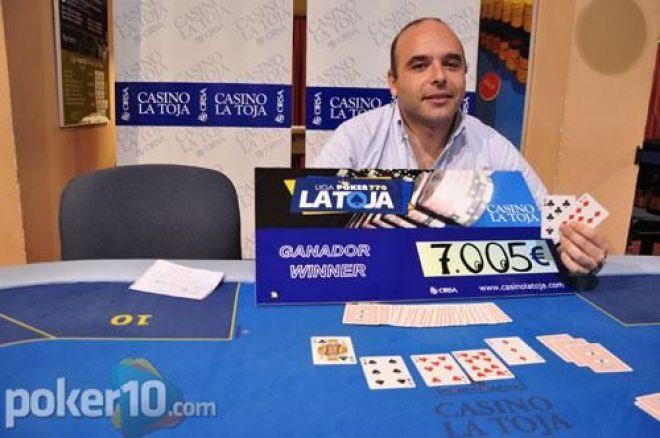 Rui Ferreiro gana la segunda etapa de la Liga Poker770 La Toja 0001