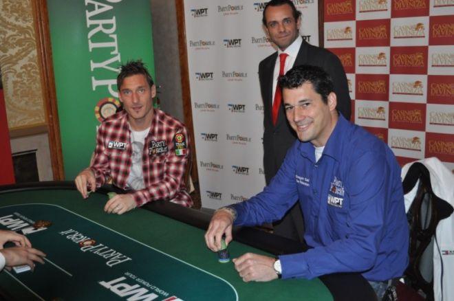 Francesco Totti a WPT Velencén varázsolt 0001