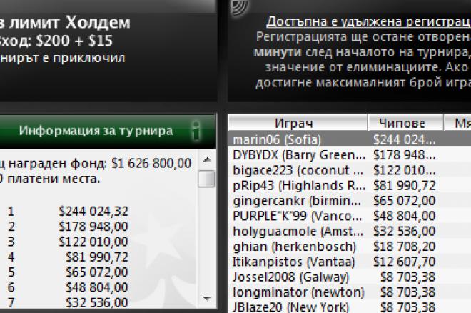 Българин спечели Sunday Million и $244К 0001