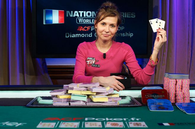 La rusa Natalia Nikitina ganó el World Poker Tour National Series de París 0001