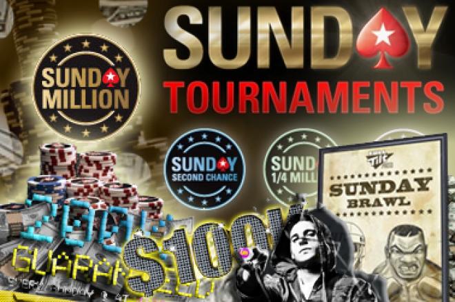 Онлайн Покер Резултати: След България, Sunday Million... 0001