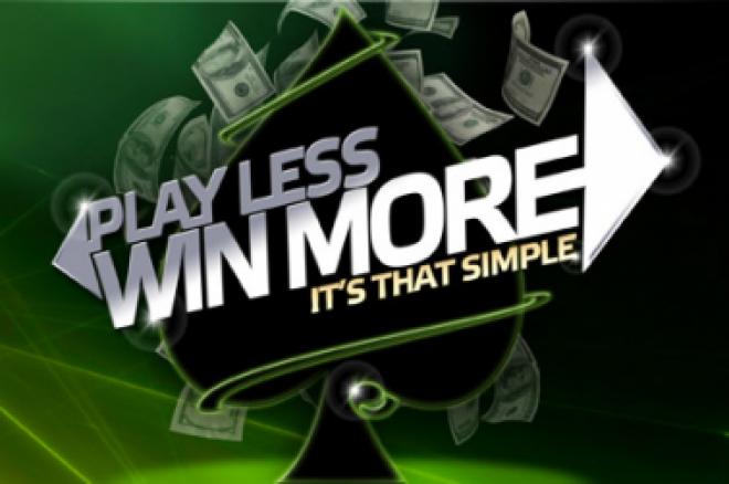 Party Poker Weekly: Graj mniej aby wygrać, Bad Beat Jackpot, Tony G i więcej 0001