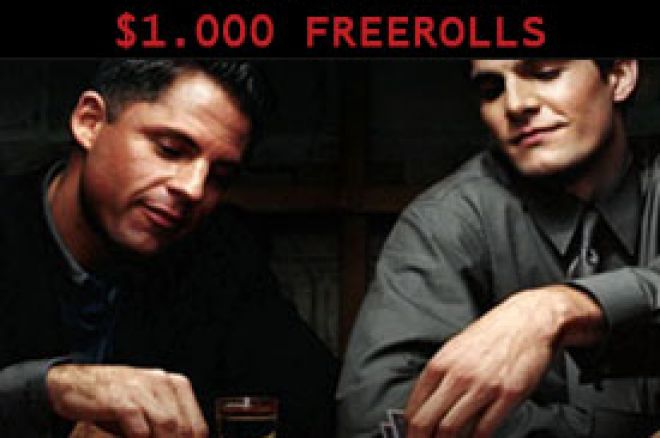 Serija $1.000 Freeroll turnira na Winner Pokeru sa PKNK 0001