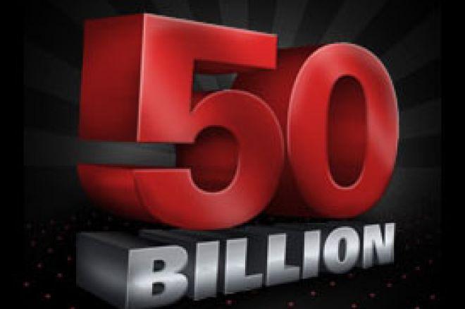 PokerStars 50 Bilion Hand promocija 0001