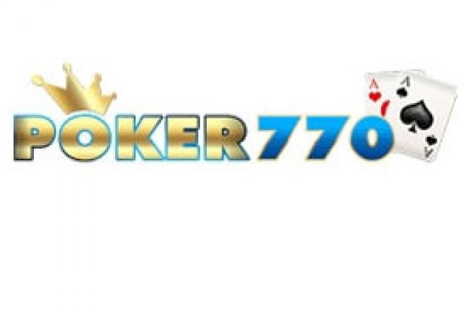 Privatni $10.000 Guaranteed turnir na Poker770 - samo šifra za učešće 0001