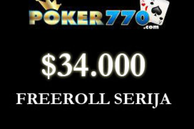 $4.000 MonsterPot Freeroll na Poker770 0001