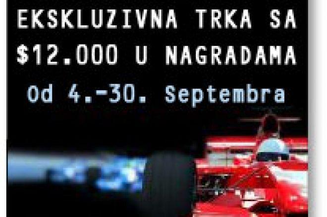 Nova Ekskluzivna trka poena $12.000  na NoIQ Poker-u za Septembar mesec 0001