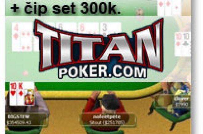 Učestvuj na FREEROLL Turnirima $50 PokerNika.com i osvoji novčane nagrade + set čipova - Titan Poker 0001