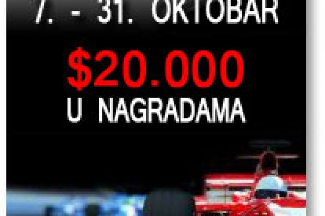 Update: Race PokerNIka.com Oktobra meseca - 20. Okt. 0001