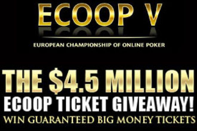 Kvalifikuj se za European Championship of Online Poker V sa $4.500.000 u nagradnom fondu! 0001