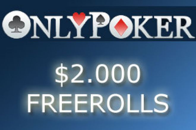 $2.000 Cash Freerolls - šansa za nepropustiti! 0001