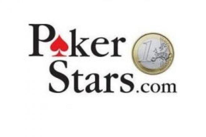 PokerStars uvodi Euro (€) 0001